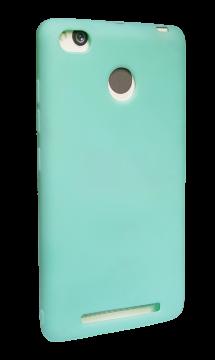 Накладка Xiaomi RedMi 3s силикон SMITT бирюза