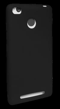 Накладка Xiaomi RedMi 3s силикон SMITT чёрный