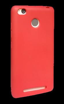 Накладка Xiaomi RedMi 3s силикон SMITT красный