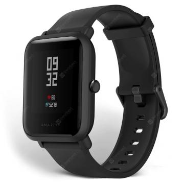 Часы-смарт Xiaomi Amazfit Bip Lite чёрные