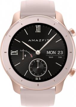 Часы-смарт Xiaomi Amazfit GTR 42mm Cherry Blossom Pink