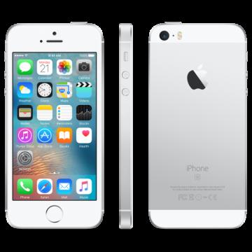 iPhone SE (64Gb) серебряный CDMA+VoLTE