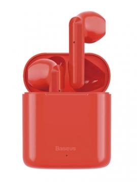 Наушники Baseus Bluetooth W09 (NGW09) красные