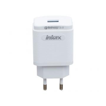 СЗУ Inkax CD-53 (зарядное устройство 1USB/3.0A) с кабелем Type-C