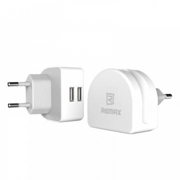 СЗУ блочок Remax Moon RMT7188 (зарядное устройство на 2 USB порта)