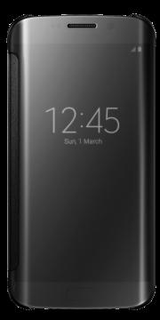 Книжка Samsung S 6 edge оригинал чёрный