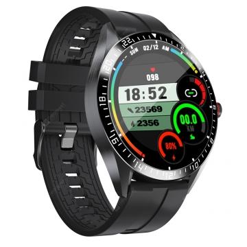 Часы-смарт Kumi GW16T чёрные