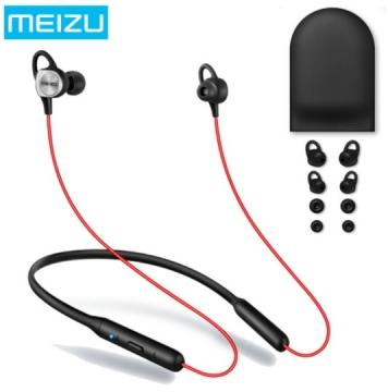 Наушники Meizu EP-52 sport bluetooth черно-красные