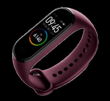 Фитнес-браслет Xiaomi Mi Band 4 фиолетовый