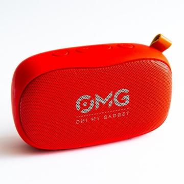 Колонка Bluetooth OMG to Go 900 красная