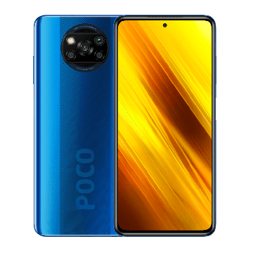Pocophone X3 (6/128Gb) New синий Volte only