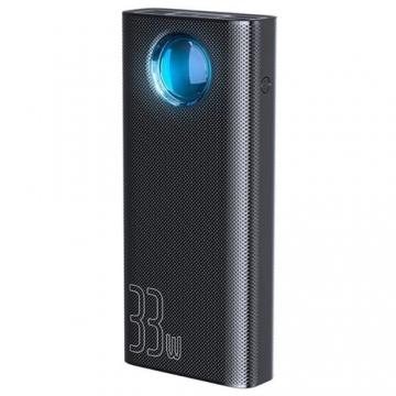 АКБ Power Bank Baseus PPLG PD 3.0+QC3.0 30000 mAh чёрный