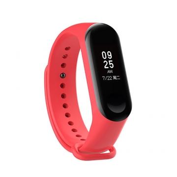 Ремешок для фитнес-браслета Xiaomi Mi Band3 красный