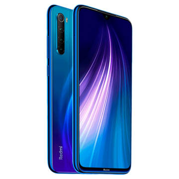 Redmi Note 8 (4/128) синий VoLTE only