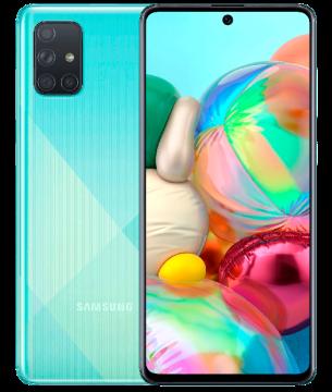 Galaxy A71 (6/128) NEW Prism Crush Blue (не тестирован в IDC)