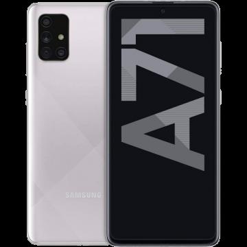 Galaxy A71 (6/128) NEW Haze Crush Silver (не тестирован в IDC)
