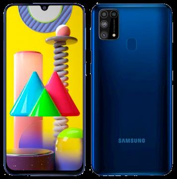 Galaxy M31 (6/128) NEW Blue (не проходил тестирование в IDC)