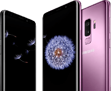 Galaxy S9+ (SM-G965U) фиолетовый б/у