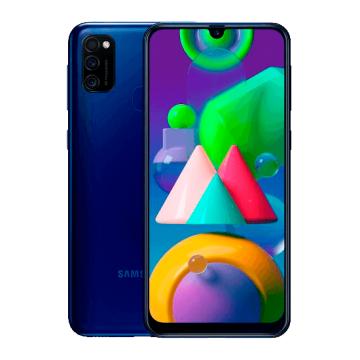 Galaxy M21 (SM-M215F/DS) (4/64) NEW синий VoLTE Only