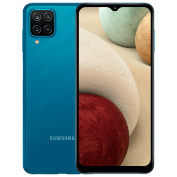 Galaxy A12 (4/128) NEW синий VoLTE Only (не тестирован IDC)