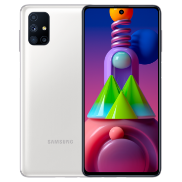 Galaxy M51 SM-M515F/DSN (8/128) NEW белый VoLTE Only