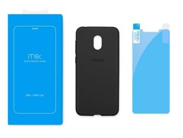 Чехол и защитная пленка для Meizu M8C (оригинал)