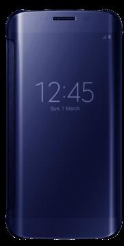 Книжка Samsung S 6 edge оригинал синий