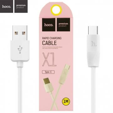 """USB cable (кабель) Type-C HOCO X1 """"Rapid"""""""