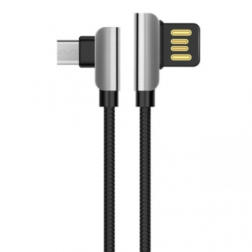 USB кабель Hoco U42 Exquisite steel (microUSB) 1,2 м