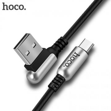 USB кабель (cable) Hoco U17 (lightning) черный