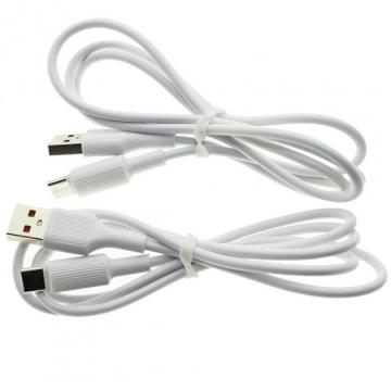 USB cable Type-C WUW X128 2.4A 1m (2 шт в упаковке)