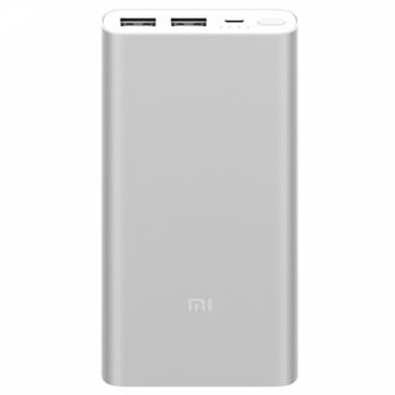АКБ Power Bank Xiaomi Mi Power Bank 2s 10000 mAh серебристый