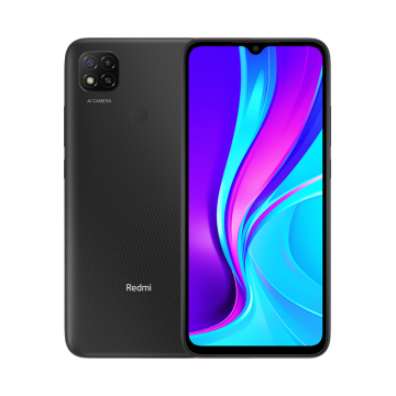Redmi 9c (3/64) NEW черный VoLTE Only