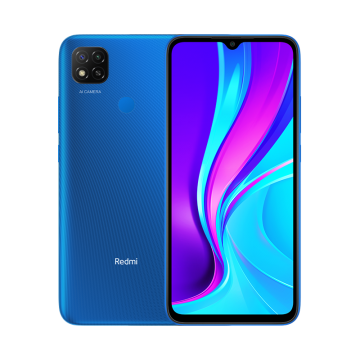 Redmi 9c (3/64) NEW синий VoLTE Only