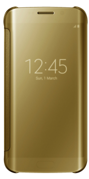 Книжка Samsung S 6 edge оригинал золотой