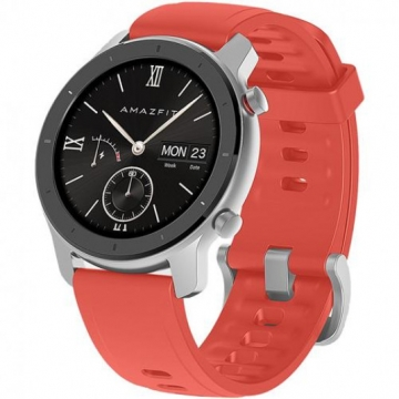 Часы-смарт Xiaomi Amazfit GTR 42mm Coral Red