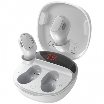 Наушники Baseus Bluetooth WM01 plus белые