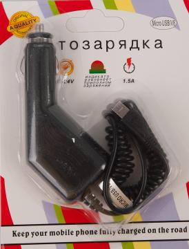 Автомобильное зарядное устройство MicroUSB V8