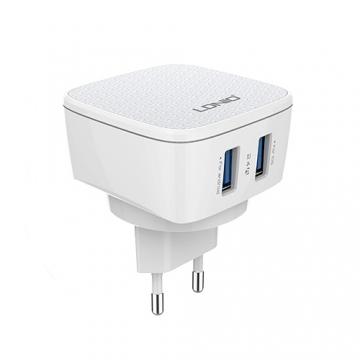 СЗУ iPhone 5 LDNIO DL-AC-66 (зарядное устройство 2 USB/2.4A)