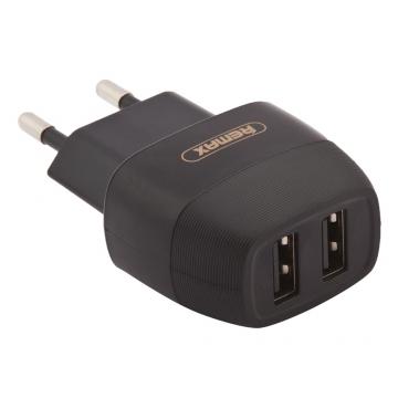 СЗУ блочок Remax Flinc RP-U29 (зарядное устройство 2 USB/2.1A)