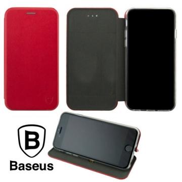 Чехол-книжка Baseus Premium Edge для Xiaomi Redmi Note 8 красная