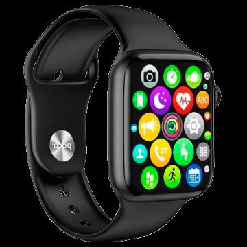 Часы-смарт Hoco Smart Sports Watch Y1 чёрные
