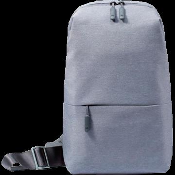 Mi City Sling bag (рюкзак сумка на плечо) светло-серый