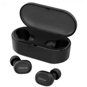 Наушники Bluetooth Qcy-T2S чёрные