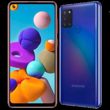 Galaxy A21s (4/64) NEW синий