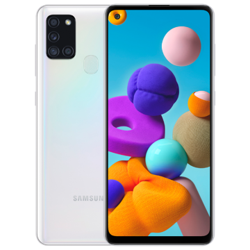 Galaxy A21s (4/64) NEW белый VoLTE Only