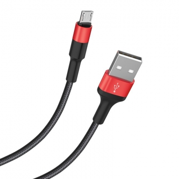 USB cable (кабель) microUSB Hoco X26 Xpress 1m