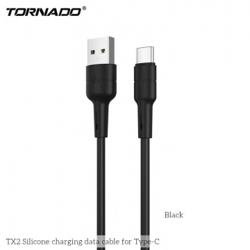 USB cable Type-C Tornado TX2 3A/1m